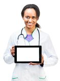 Doctor With Digital Tablet Royalty Free Stock Photography