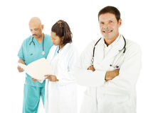 Doctor Diversity Stock Image