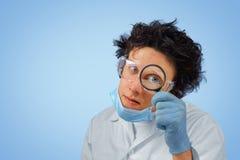 Doctor divertido Foto de archivo libre de regalías