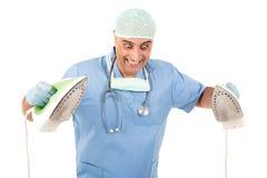 Doctor divertido Foto de archivo
