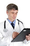 Doctor on duty Royalty Free Stock Photos