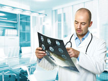 Doctor on duty Royalty Free Stock Photography