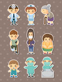 Doctor element stickers Stock Photo