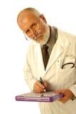 Doctor en cuestión Imágenes de archivo libres de regalías