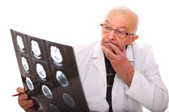 Doctor en el trabajo Fotos de archivo
