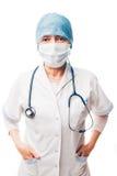 Doctor en el trabajo Imágenes de archivo libres de regalías