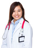 Doctor en laboratorio imagen de archivo libre de regalías