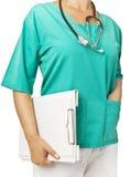 Doctor en uniforme Fotos de archivo libres de regalías
