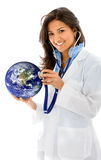 Doctor for the environment Royalty Free Stock Photos
