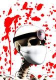 Doctor esquelético Imagen de archivo libre de regalías