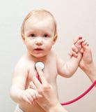 Doctor exam Stock Image