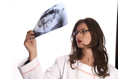 Doctor Examining X-Ray Stock Images