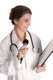 Doctor explaining Stock Photos