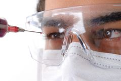 Doctor Eyes Royalty Free Stock Image