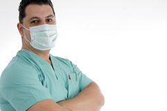 Doctor with face mask Stock Photos