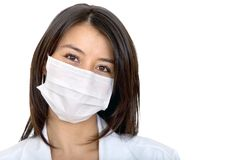 Doctor with facemask Stock Photo