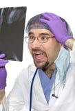 doctor felet royaltyfri foto
