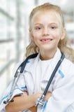 Doctor feliz fotografía de archivo