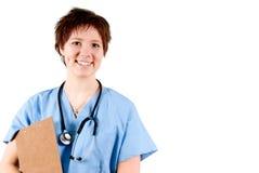 Doctor feliz Imagen de archivo libre de regalías