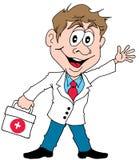 Doctor feliz Fotografía de archivo libre de regalías