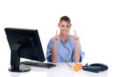 doctor female office Στοκ Εικόνες