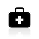 Doctor first aid case. Illustration Stock Images