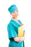 Doctor. fondo blanco Fotografía de archivo libre de regalías