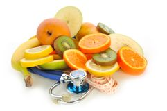 Doctor fruit Royalty Free Stock Image