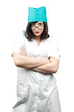 Doctor  with glasses Royalty Free Stock Photography