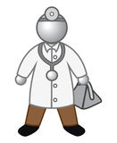 Doctor glossy Royalty Free Stock Images