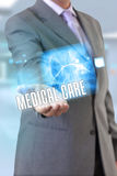 Doctor hand medical care Stock Photo
