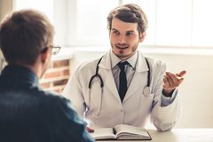 At the doctor Royalty Free Stock Photo
