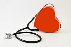 Doctor heart royalty free stock photo