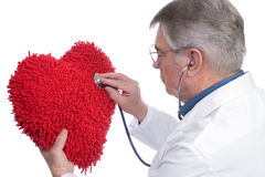 Doctor with Heart Royalty Free Stock Photos