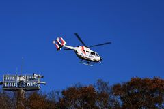 Doctor helicopter Royalty Free Stock Photo