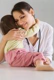 doctor henne ungen Royaltyfria Foton