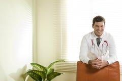 Doctor in his studio Stock Image