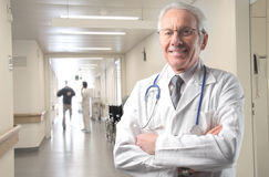Doctor at hospital Royalty Free Stock Photo