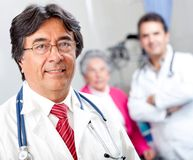 Doctor at the hospital Stock Photography