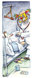 Doctor in hospital Stock Photo