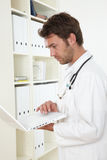 Doctor In Clinic Stock Photography
