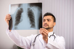 Doctor Indian Stock Photo