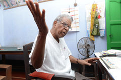 Doctor indio Fotos de archivo
