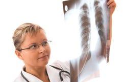 Doctor joven Imagen de archivo libre de regalías