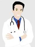 Doctor joven acertado Fotos de archivo