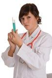 Doctor joven en el trabajo fotos de archivo libres de regalías