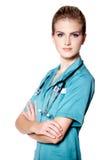 Doctor joven hermoso Imagen de archivo libre de regalías