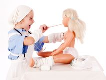 Doctor Kid Stock Photography