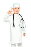 Doctor kid Royalty Free Stock Photo