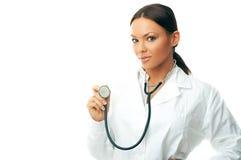 doctor kvinnlign Arkivbilder